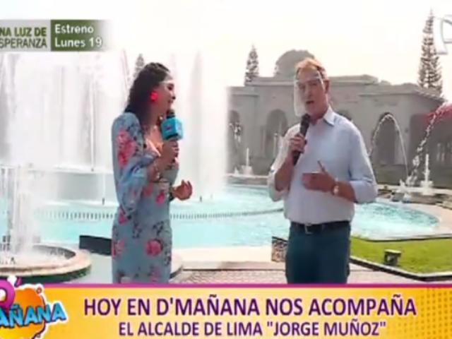 ¡D'Mañana celebró sus seis meses con el alcalde Muñoz en Circuito Mágico del Agua!