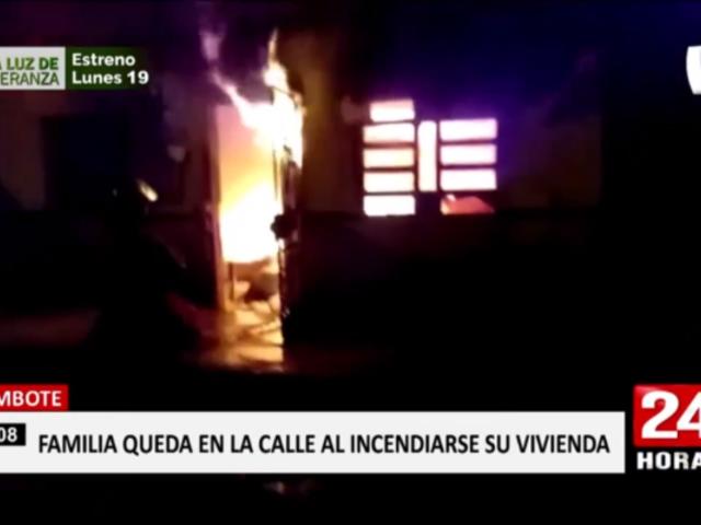 Incendios afectan inmuebles al interior del país