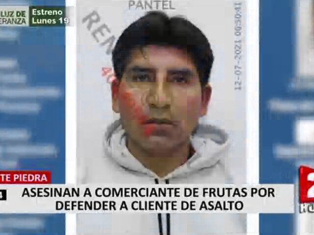 Comerciante asesinado en Puente Piedra: vecinos señalan que anteriormente ocurrió otro crimen