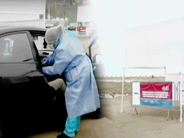 Reabren 'vacunacar' en Costa Verde pero recomiendan no acudir ante posible oleaje