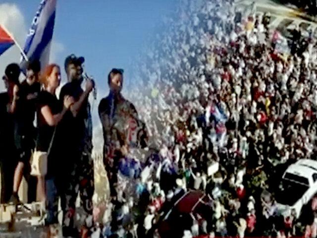 EEUU: cubanos en Miami se unen a las protestas por la libertad