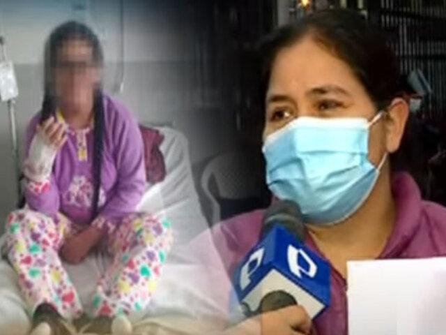 Hospital María Auxiliadora: Denuncian que no aceptan traslado de menor grave