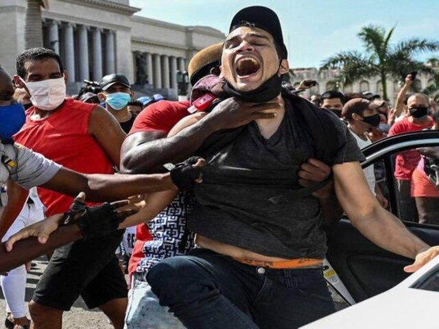 """OEA tras actos de represión durante protestas en Cuba: """"Es imprescindible que la dictadura caiga"""""""