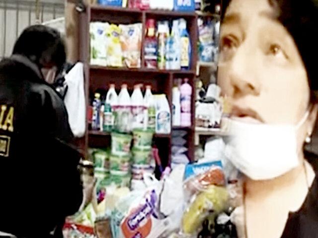 Callao: operativo policial detecta casi 2 toneladas de productos vencidos en tienda