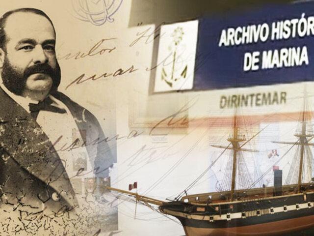 BDP hace un recorrido por el archivo histórico de la Marina de Guerra del Perú