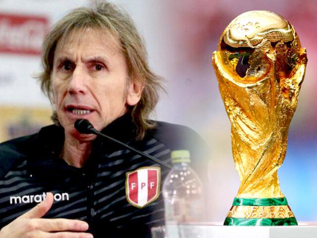 """Ricardo Gareca en conferencia: """"volver a un Mundial es determinante"""""""