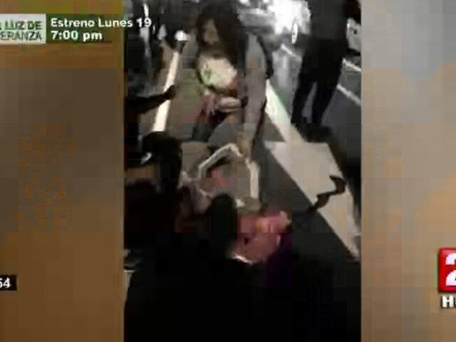 Abogado de hombre agredido en manifestación señaló que al hombre lo agarraron a palos