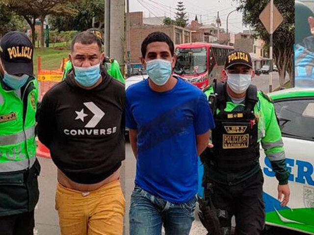 Surco: intervienen a cinco extranjeros que atacaron a fiscalizadores municipales