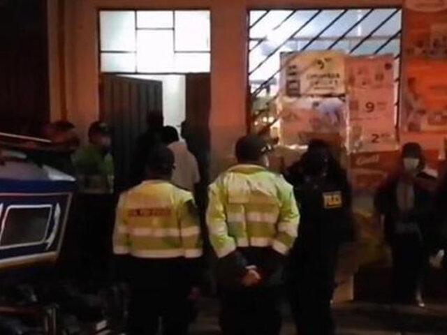 """Puno: intervienen a más de 100 personas durante operativos contra  """"fiestas Covid-19″"""