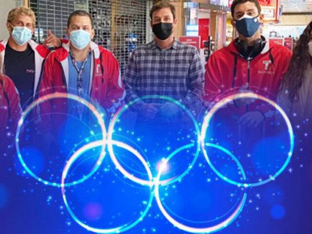 Equipo peruano de Tabla viajo a Tokio para participar de la justa olímpica