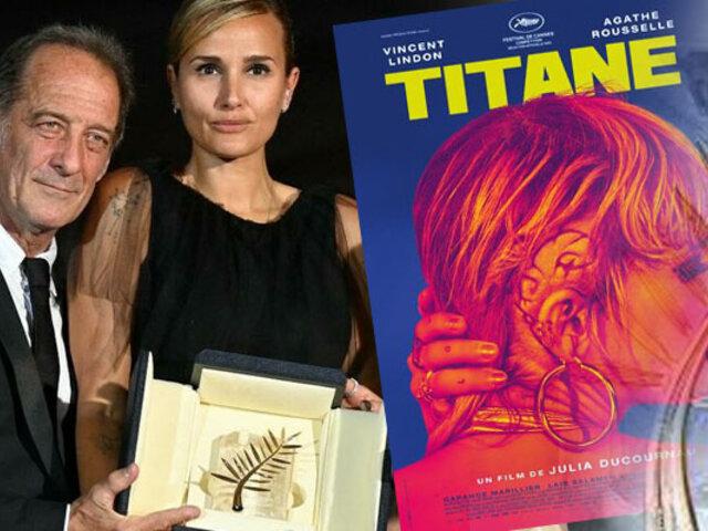 "Película ""Titane"" ganó la Palma de Oro en Cannes"