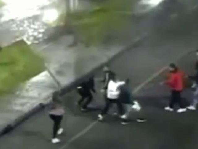 Tacna: cámaras de seguridad captan violenta pelea callejera