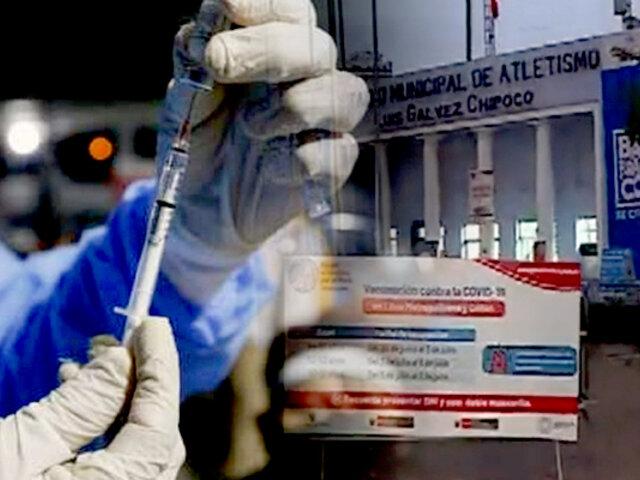 Minsa amplía horario de vacunación: este es el panorama en el estadio Chipoco - Barranco