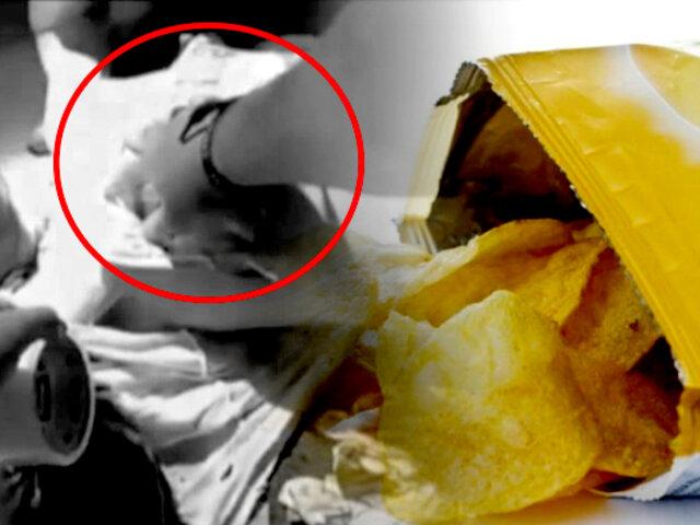EEUU: Policía salva la vida de un hombre con una bolsa de papas fritas