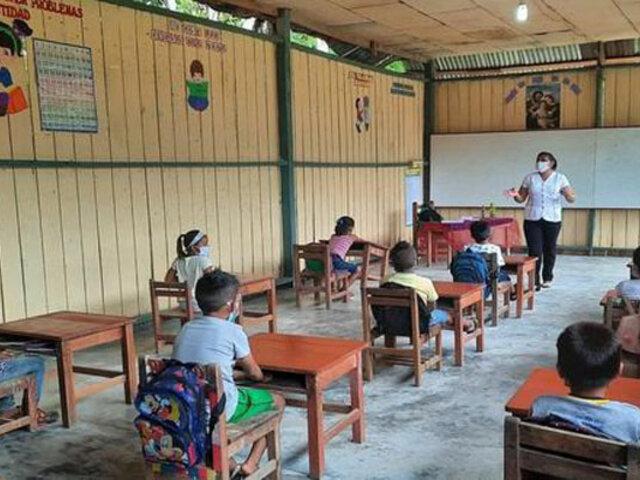 Loreto: suspenden clases semipresenciales luego que maestros se infectaran con Covid-19