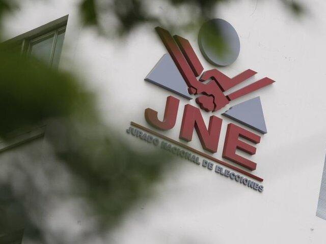 Jurado Nacional de Elecciones cancela inscripción de 15 partidos políticos