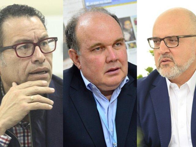 Fiscalía inició investigación preliminar por 30 días contra López Aliaga, Beto Ortíz y Philip Butters