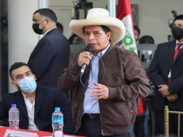 Vocero del Minsa: Si Pedro Castillo no se ha vacunado, ahora puede hacerlo en la Vacunatón