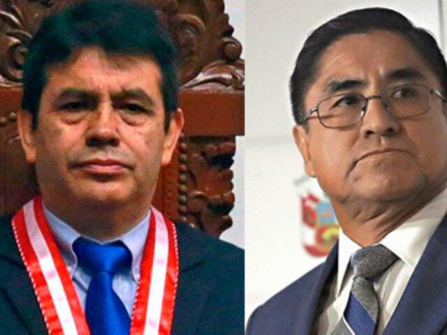 Congreso: Comisión Permanente aprobó acusar constitucionalmente a César Hinostroza y Tomás Gálvez