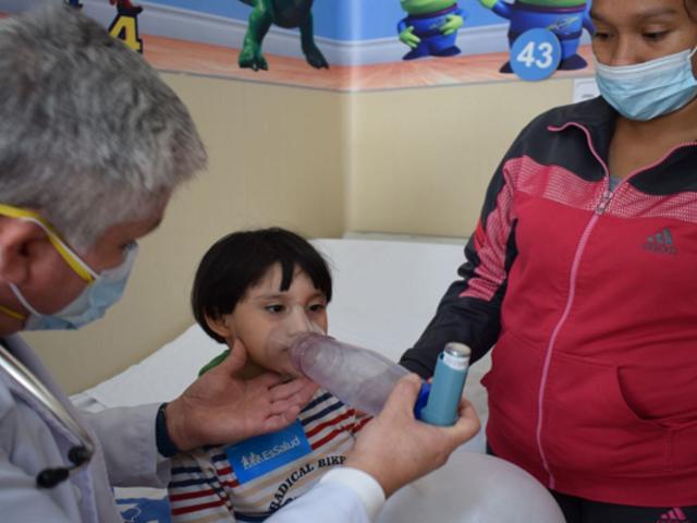 Advierten que situaciones de estrés en pandemia podrían generar ataques de asma en los niños