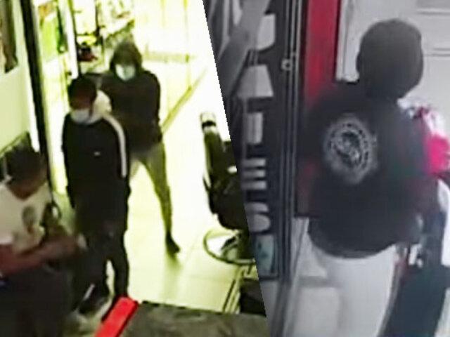 Ladrones armados asaltan barbería en Barranca