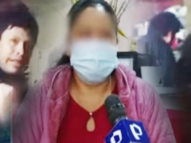 Mujer fue masacrada a golpes por su esposo y su menor hija lo graba todo para denunciarlo