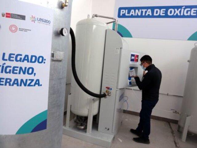 Huacho: entró en funcionamiento planta de oxígeno importada por Proyecto Legado