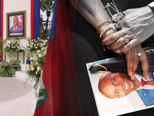 Haití: comienza los homenajes al fallecido presidente Jovenel Moise