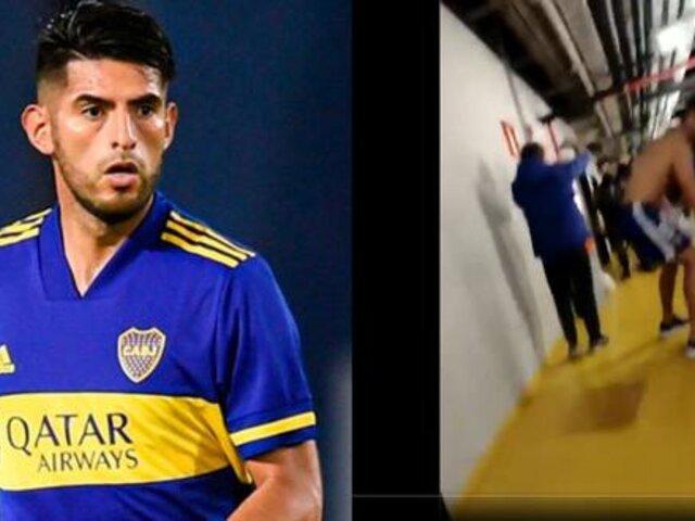 Parte policial señala que Carlos Zambrano escupió a agente de seguridad luego de la eliminación de Boca