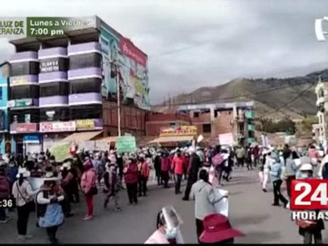 Cusco: diversos gremios acatan paro de 48 horas por alza de precios