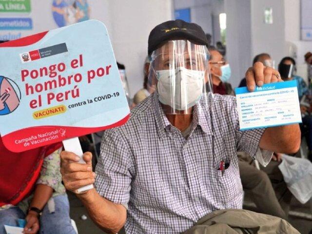 Perú superó la aplicación de 11 millones de vacunas contra la Covid-19