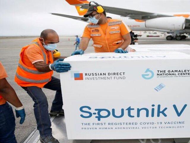 """Premier Violeta Bermúdez sobre Sputnik V: """"Las vacunas deberían estar llegando a partir de agosto"""""""