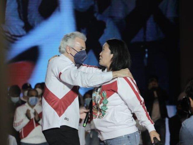 Álvaro Vargas Llosa saluda decisión de Keiko Fujimori de aceptar resultados de la ONPE