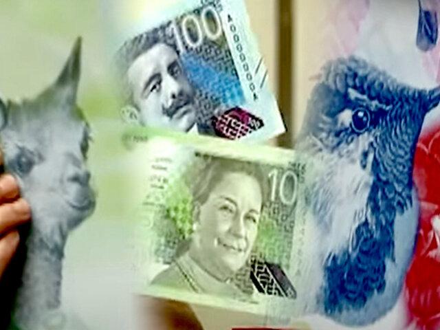 Nuevo diseño en billetes de S/.10 y S/.100: sepa cómo reconocer su autenticidad [VIDEO]