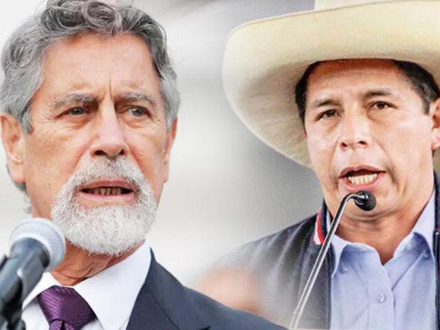 Sagasti tras reunión con Castillo: Cambio de Constitución es un tema muy complejo y divisivo
