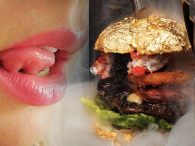 ¿Te la comerías? Esta es la hamburguesa más cara del mundo