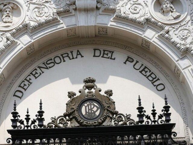 Defensoría del Pueblo insta a Pedro Castillo a alejar de su entorno a personas investigadas