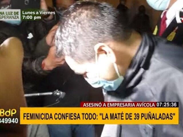 """Sujeto que asesinó a empresaria avícola confiesa crimen: """"La maté de 39 puñaladas"""""""