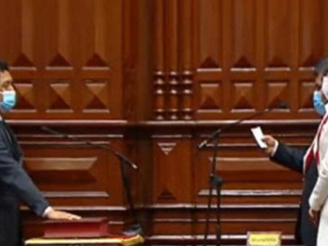 """Bermejo juró como congresista por """"la patria socialista y la Asamblea Constituyente"""""""