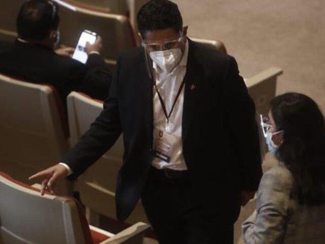 Vladimir Cerrón asistió a la entrega de credenciales a Pedro Castillo por el JNE