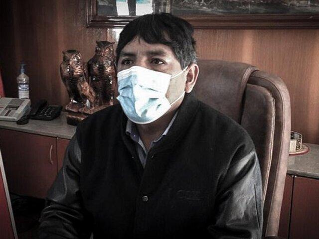 Alcalde de Huancayo tras ser captado en fiesta: No puedo despreciar una sorpresa de cumpleaños