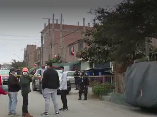 SJL: Asesinan a balazos a ciudadano venezolano mientras caminaba con su pareja