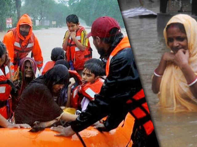 India confirma 138 muertos por fuerte temporada de lluvias