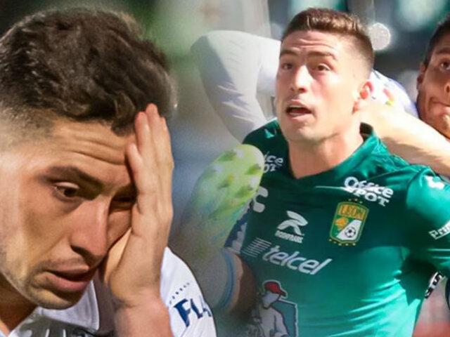 Santiago Ormeño: León cayó goleado 4-0 ante Pachuca en la Liga MX