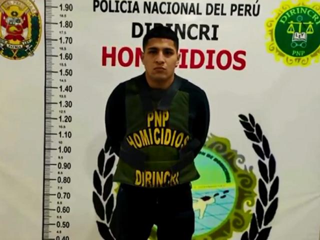 """Barrios Altos: Policía Nacional captura al """"Loco Bryan"""""""