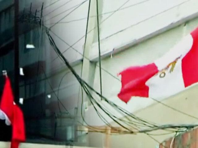¡Operativo banderas! No más estandartes sucios y en mal estado