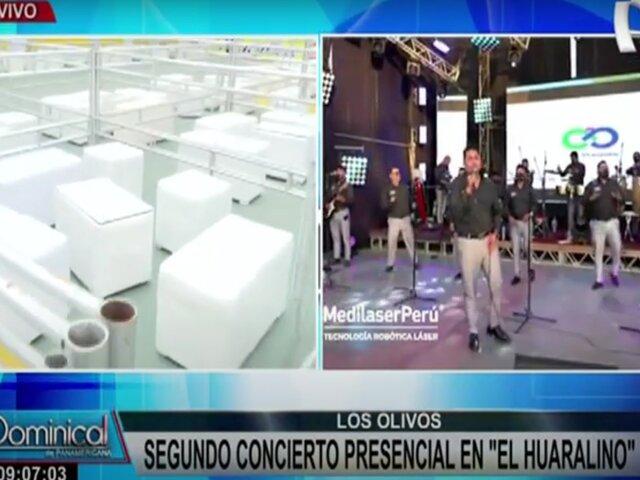 Armonía 10 vuelve a los escenarios en el segundo concierto presencial de El Huaralino