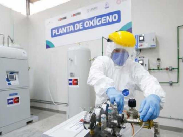 Minsa: el Perú ya cuenta con 306 plantas de oxígeno medicinal a nivel nacional
