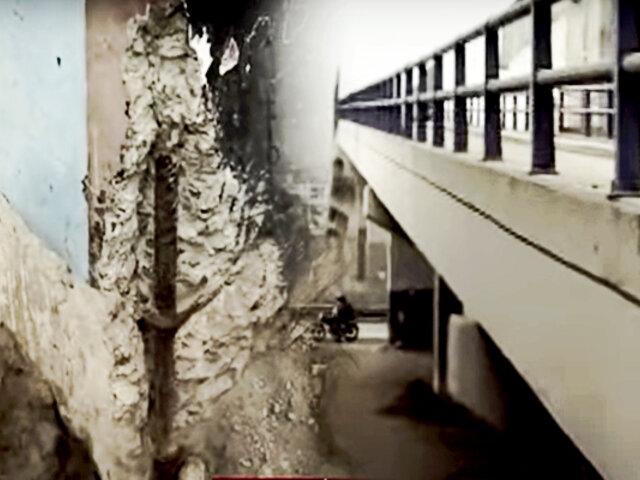 Puentes peatonales en mal estado: Línea 1 del Metro dijo que iniciará con remodelación