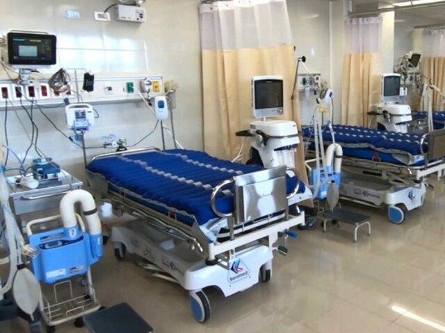 Camas UCI: lista de espera se redujo de 60 a aproximadamente 5 pacientes